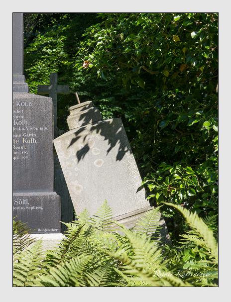 Grab der Familie Weigerleitner auf dem Alten Südfriedhof München (Juli 2016)