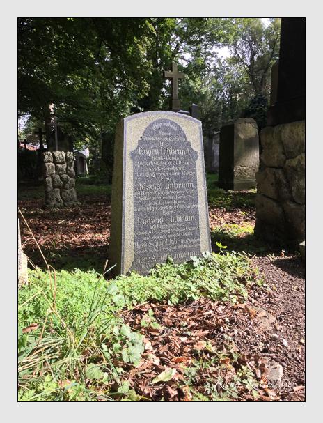 Grab der Familie Linbrunn auf dem Alten Südfriedhof München (September 2016)
