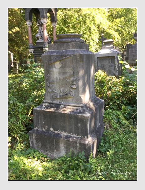 Grab der Familien Baumann & Retter auf dem Alten Südfriedhof München (Oktober 2016)