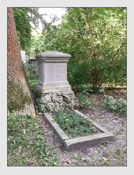 Grab der Familien Fridrich · Hieber auf dem Alten Südfriedhof München (Oktober 2016)