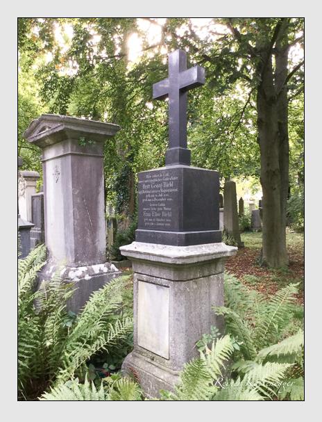 Grab der Familie Biehl auf dem Alten Südfriedhof München (Oktober 2016)