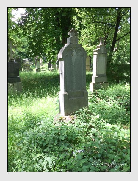 Grab der Familie Wolfrum auf dem Alten Südfriedhof München (Oktober 2016)