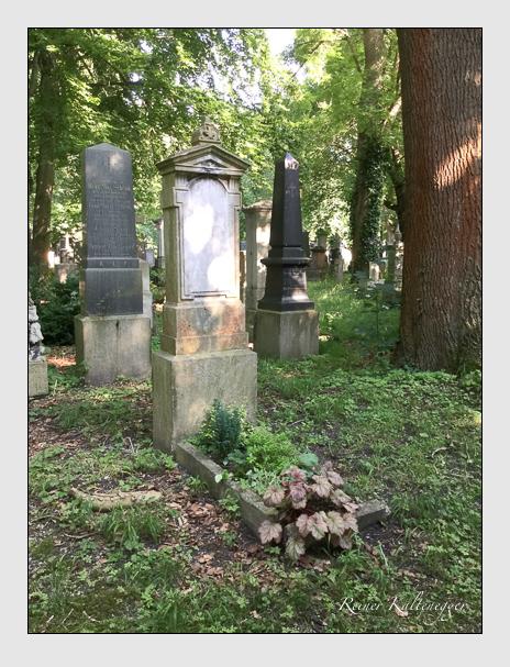Grab der Familie Rosenstengel auf dem Alten Südfriedhof München (Oktober 2016)