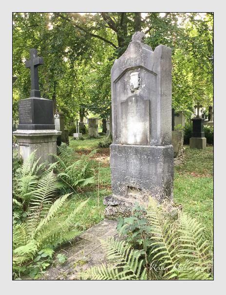 Grab der Familie Verger auf dem Alten Südfriedhof München (Oktober 2016)