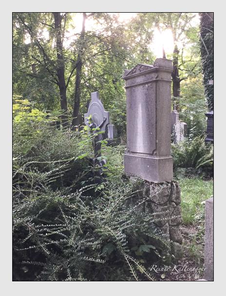 Grab der Familien Dusch · Schenk auf dem Alten Südfriedhof München (Oktober 2016)