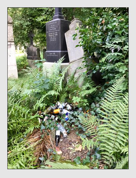 Grab der Familie Weigerleitner auf dem Alten Südfriedhof München (Oktober 2016)