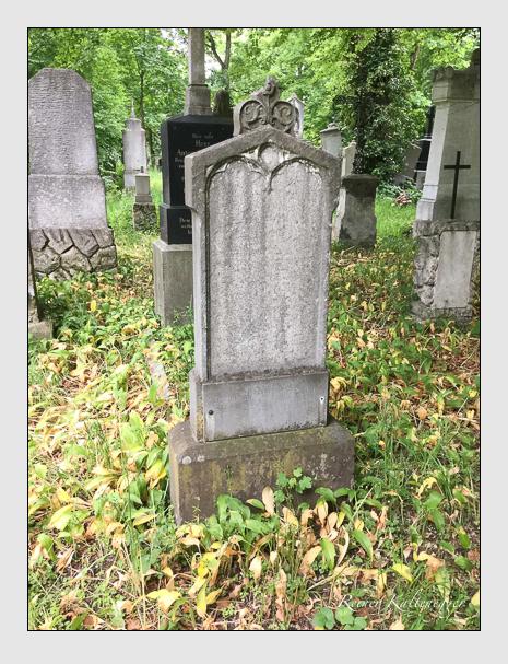 Grab der Familie Klein auf dem Alten Südfriedhof München (Oktober 2016)