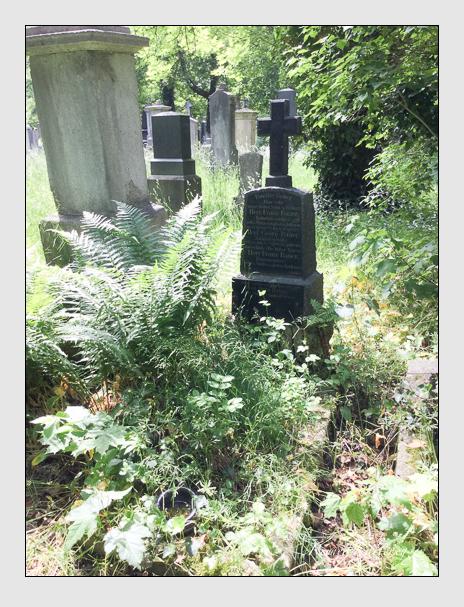 Grab der Familie Bauer auf dem Alten Südfriedhof München (Oktober 2016)