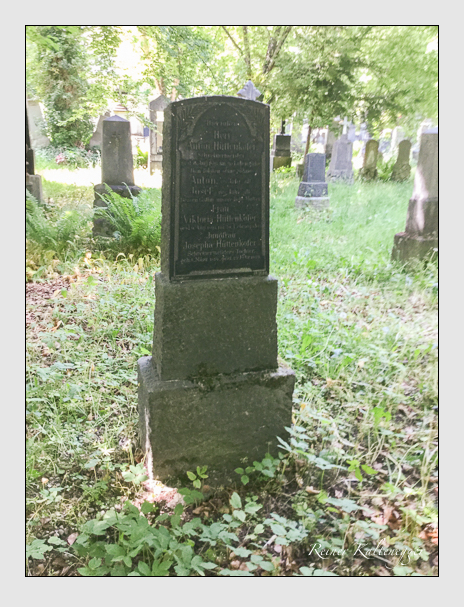 Grab der Familie Hüttenkofer auf dem Alten Südfriedhof München (Oktober 2016)