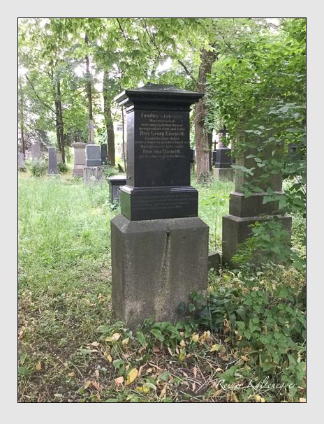 Grab der Familien Eisenrith & Wimmer auf dem Alten Südfriedhof München (Oktober 2016)