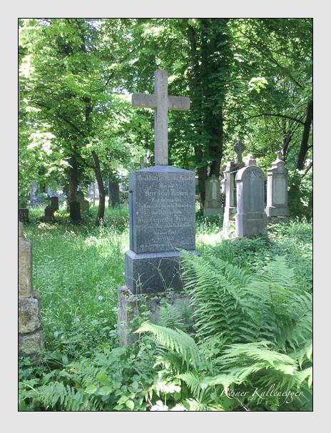 Grab der Familie Heimerl auf dem Alten Südfriedhof München (März 2014)