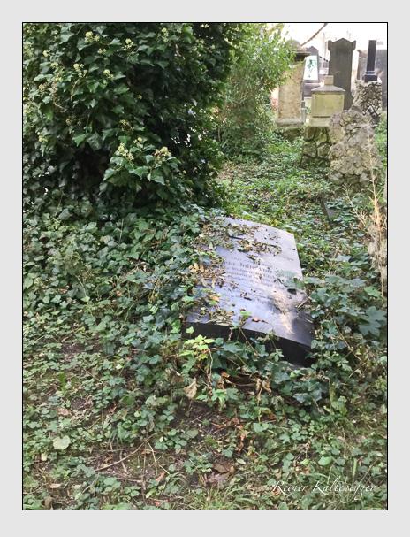 Grab der Familie Staden auf dem Alten Südfriedhof München (Oktober 2016)