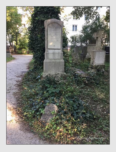 Grab der Familie Hartmann auf dem Alten Südfriedhof München (Oktober 2016)