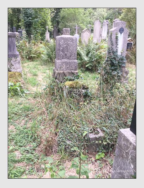 Grab der Familie Eppensteiner auf dem Alten Südfriedhof München (Oktober 2016)