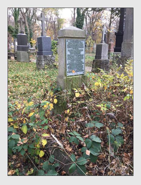 Grab der Familie Geiger auf dem Alten Südfriedhof München (Oktober 2016)