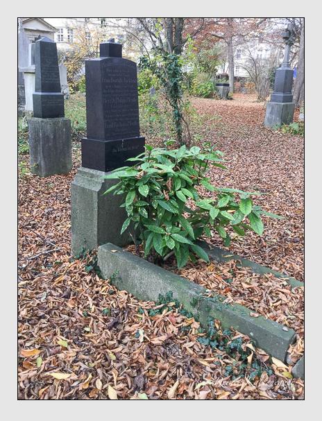 Grab der Familien Jäcklein & Pfeuffer auf dem Alten Südfriedhof München (Oktober 2016)