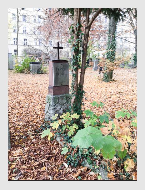 Grab der Familie Kröner auf dem Alten Südfriedhof München (Mai 2017)