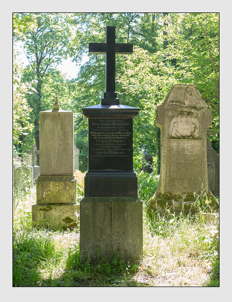 Grab der Familie Heilmeier auf dem Alten Südfriedhof München (Mai 2017)