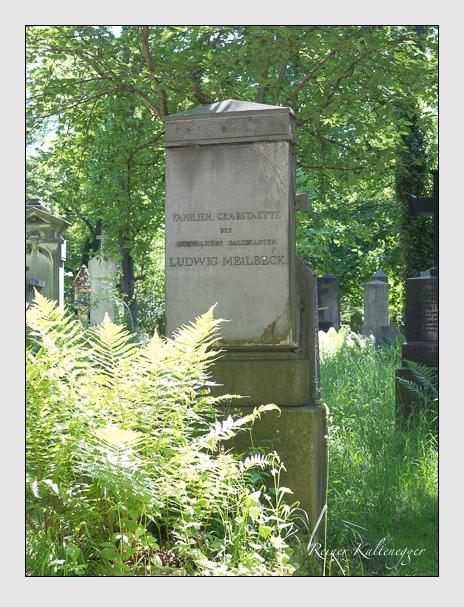 Grab der Familie Meilbeck auf dem Alten Südfriedhof München (Mai 2017)