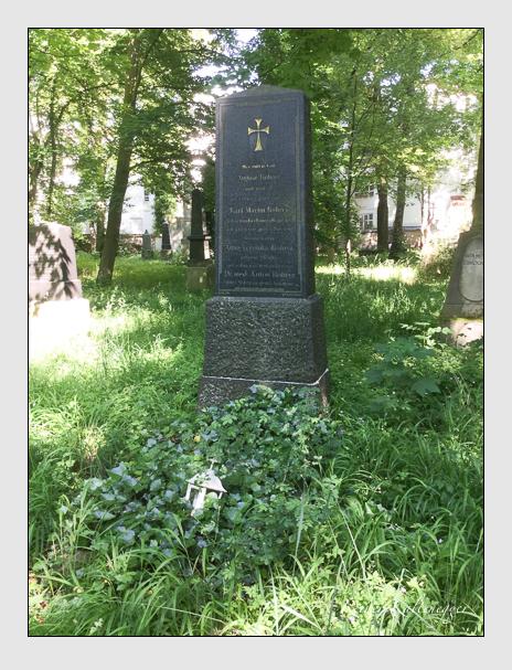 Grab der Familie Rohrer auf dem Alten Südfriedhof München (Juni 2017)
