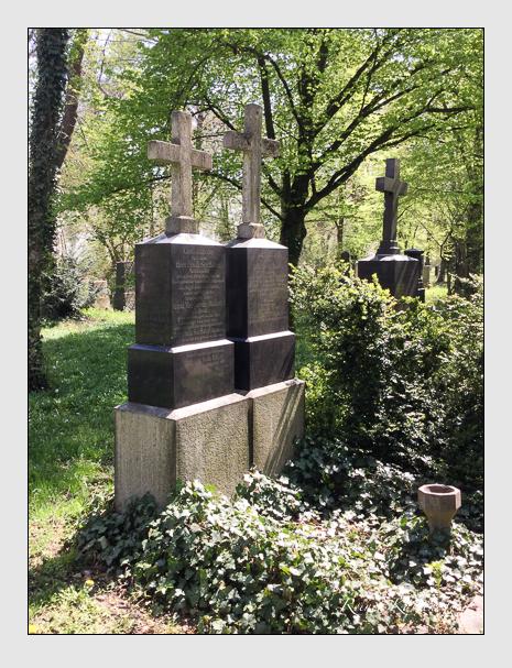 Grab der Familien Huber · Rückner auf dem Alten Südfriedhof München (Oktober 2017)