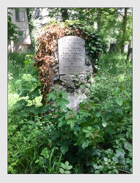 Grab der Familien Labonté · Sinzinger auf dem Alten Südfriedhof München (Oktober 2017)