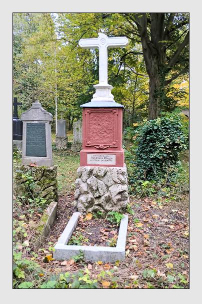 Grab der Familie Glogger auf dem Alten Südfriedhof München (Oktober 2017)
