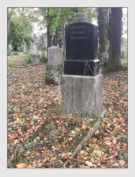 Grab der Familien Heinel & Westreicher auf dem Alten Südfriedhof München (Oktober 2017)