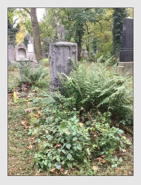 Grab der Familie Rengly auf dem Alten Südfriedhof München (Oktober 2017)