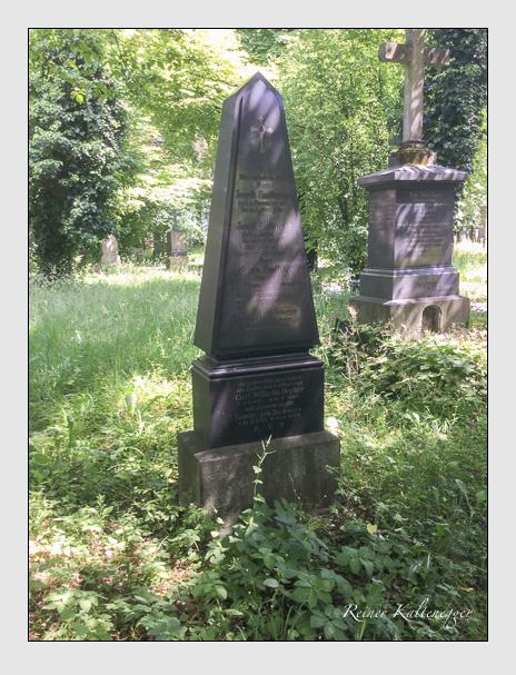 Grab der Familien Bachmeyr & Becker auf dem Alten Südfriedhof München (Oktober 2017)
