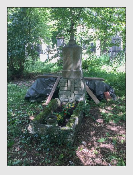 Grab der Familien Drexl & Kohl auf dem Alten Südfriedhof München (Oktober 2017)