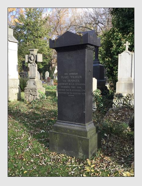 Grab der Familie Grainger auf dem Alten Südfriedhof München (Dezember 2017)