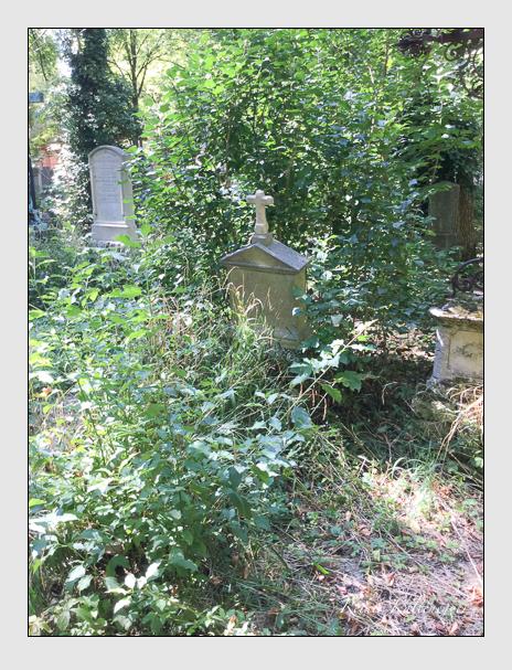 Grab der Familie Quaglio auf dem Alten Südfriedhof München (Dezember 2017)