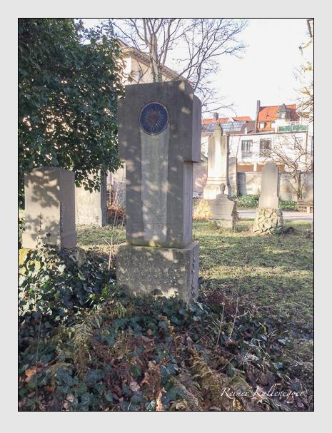 Grab der Familie Wittenzellner auf dem Alten Südfriedhof München (Dezember 2017)