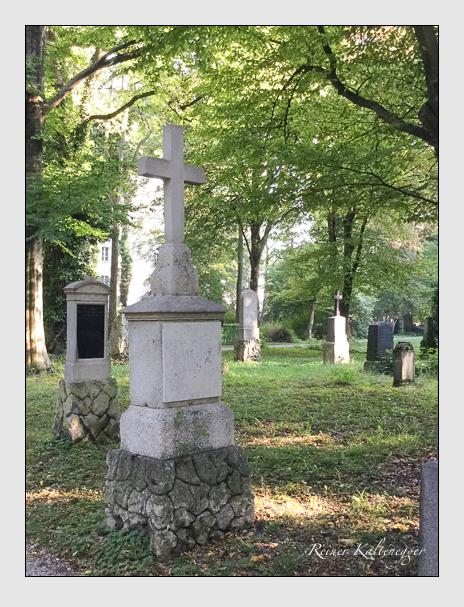 Grab der Familie Khreninger auf dem Alten Südfriedhof München (Mai 2018)