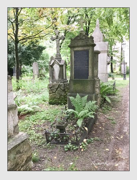 Grab der Familie Strasser auf dem Alten Südfriedhof München (Mai 2018)