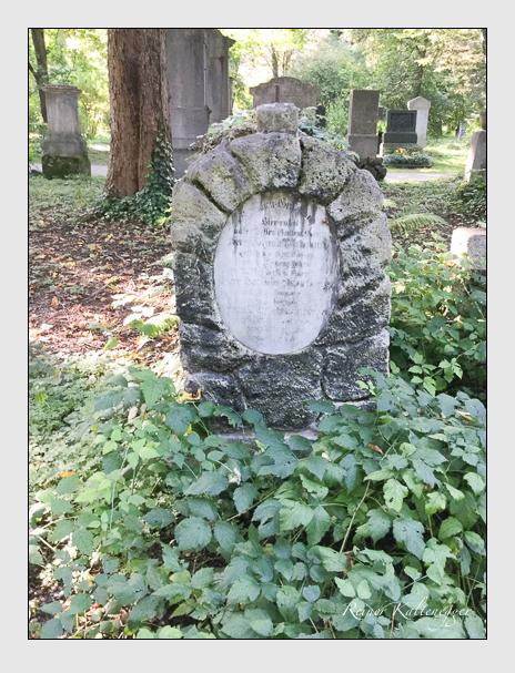 Grab der Familien Bromberger & Wittmann auf dem Alten Südfriedhof München (Mai 2018)