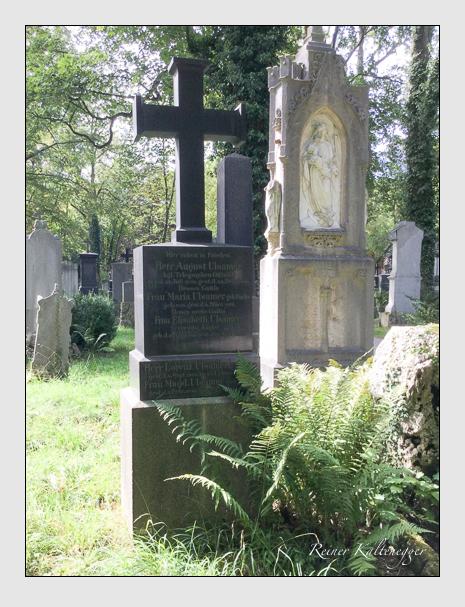 Grab der Familie Ulsamer auf dem Alten Südfriedhof München (September 2018)