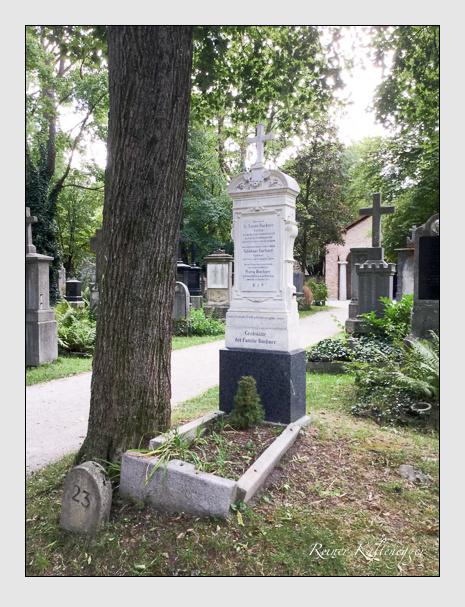 Grab der Familien Brantl · Buchner auf dem Alten Südfriedhof München (September 2019)