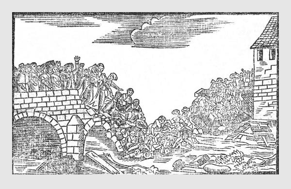 Illustration zum Trauer-Gedicht (1813)