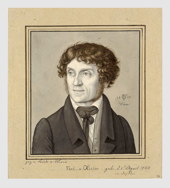 Karl Vogel von Vogelstein: Ferdinand von Olivier. 1828. Staatliche Kunstsammlungen Dresden.