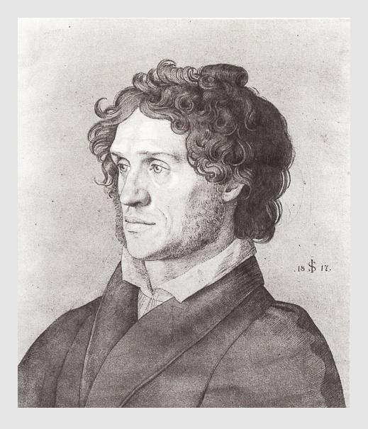 Julius Schnorr von Carolsfeld: Ferdinand von Olivier. 1817.