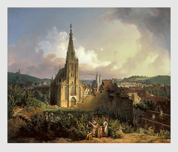 Michael Neher: Die Liebfrauenkirche in Esslingen. 1847.