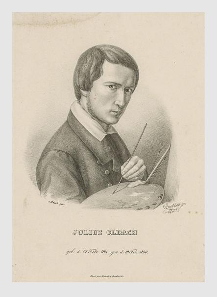 Otto Specker: Julius Oldach. 1831. Bildarchiv Hamburger Kunsthalle.