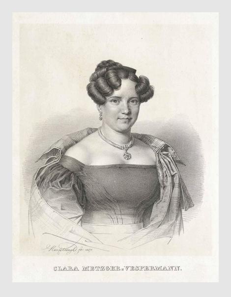 Franz Seraph Hanfstaengl: Clara Metzger-Vespermann (1827).