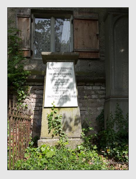 Grab der Familie Steinheil auf dem Alten Südfriedhof München (Juni 2020)