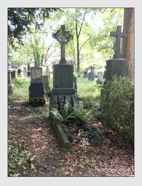 Grab der Familie Zottmayr auf dem Alten Südfriedhof München (Juli 2020)