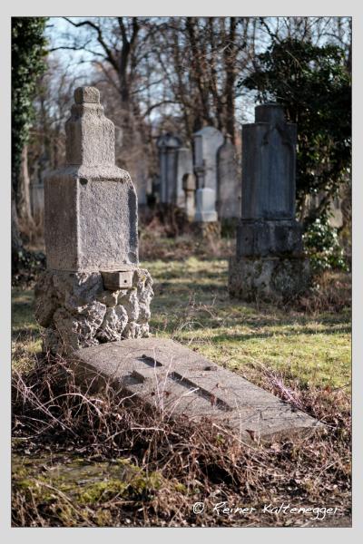 Grab der Familie Lammerer auf dem Alten Südfriedhof München (Dezember 2020)