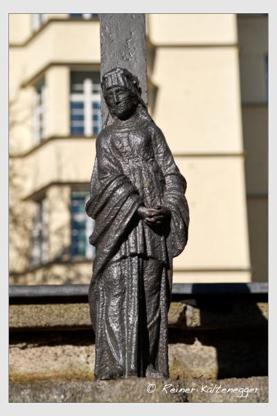 Grab der Familie Becke auf dem Alten Südfriedhof München (Februar 2021)
