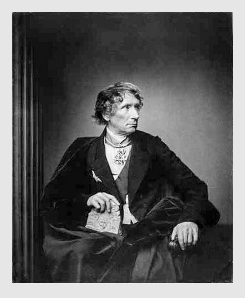 Franz Hanfstaengl: Leo von Klenze. 1856. Porträtsammlung des Münchner Stadtmuseums.